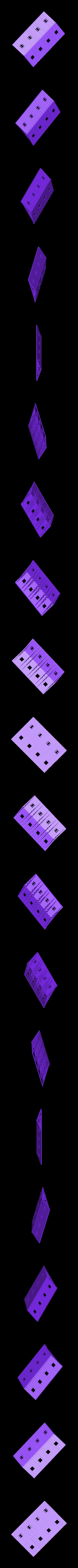 Warehouse_Roof__Rafters.stl Télécharger fichier STL gratuit Opérations de triage à l'échelle HO • Design imprimable en 3D, kabrumble