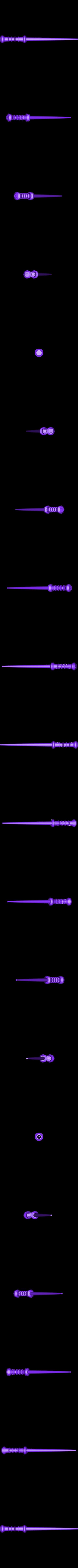 wand_bolt.stl Download free STL file Potterish Magic Wands • 3D printer object, Boyvard