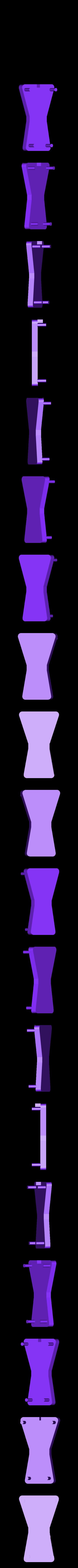 Ornament_Body_Back.STL Download free STL file Pull-String Nutcracker Ornament • 3D printer template, Girthnath