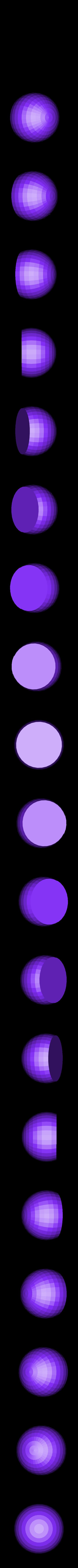 eyeball.stl Télécharger fichier STL gratuit Boucles d'Ornement et d'Oreilles de Chat • Objet pour impression 3D, Girthnath