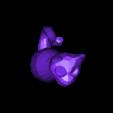 cat.stl Télécharger fichier STL gratuit Boucles d'Ornement et d'Oreilles de Chat • Objet pour impression 3D, Girthnath