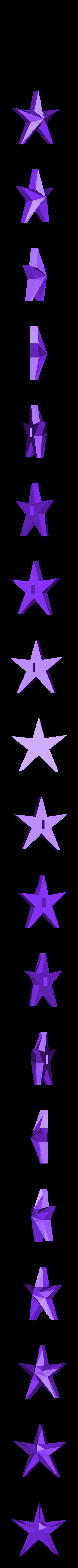 star.stl Télécharger fichier STL gratuit Ornement Mix and Match • Design imprimable en 3D, Girthnath