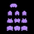 8bit_PixelThings_2013-10-26.stl Download free STL file 8bit PixelThings • 3D printing model, Girthnath