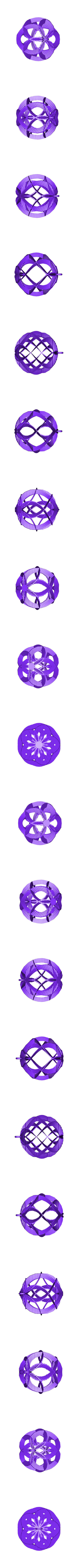 Spiral_sphere_ornament_2013-11-23.stl Download free STL file Spiral Sphere Ornament - Customizer enabled • 3D printing design, Girthnath