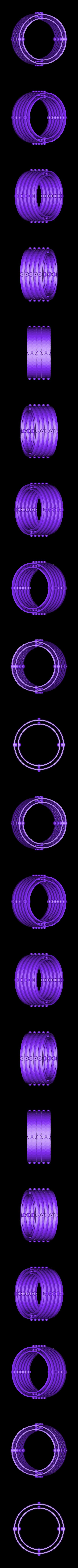 RingSet5.stl Télécharger fichier STL gratuit Plaques de montage gyroscopiques à cardan • Plan pour impression 3D, Bolnarb