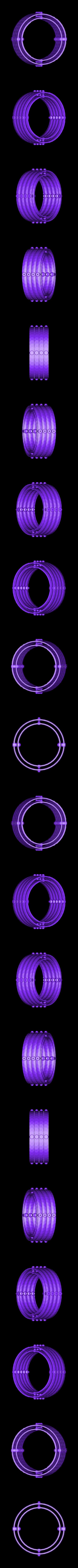RingSet4.stl Télécharger fichier STL gratuit Plaques de montage gyroscopiques à cardan • Plan pour impression 3D, Bolnarb