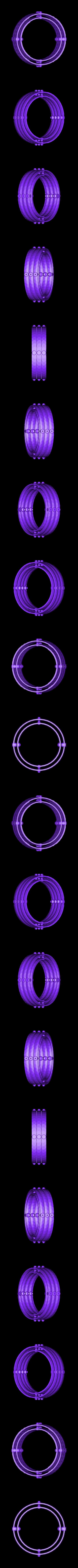 RingSet3.stl Télécharger fichier STL gratuit Plaques de montage gyroscopiques à cardan • Plan pour impression 3D, Bolnarb