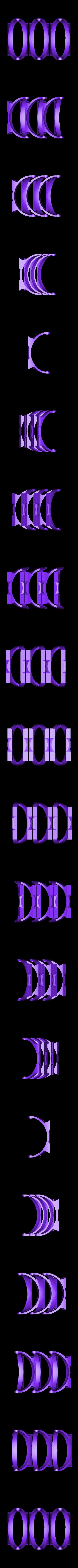 3_Bases.stl Télécharger fichier STL gratuit Plaques de montage gyroscopiques à cardan • Plan pour impression 3D, Bolnarb