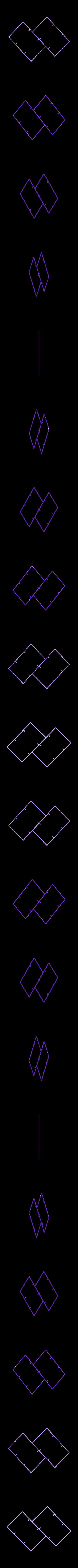 2_Bases_Outline.stl Télécharger fichier STL gratuit Plaques de montage gyroscopiques à cardan • Plan pour impression 3D, Bolnarb