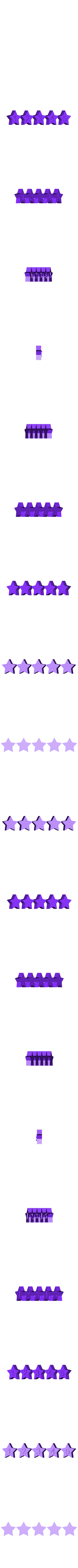 STARS.stl Download free STL file Math Facts - Numbers, Shapes, Colors • Template to 3D print, Bolnarb