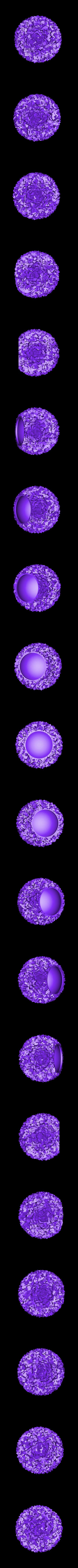 snowball_lights-frosted_cubes.stl Télécharger fichier STL gratuit Boule de neige lumières • Design pour impression 3D, Bolnarb