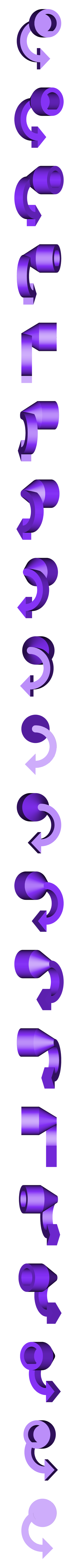 Anycubic_I3_Mega_Filamentrollenhalter-ExtruderDrehIndikator.stl Download free STL file Anycubic I3 Mega Spool Holder • 3D print object, dede67