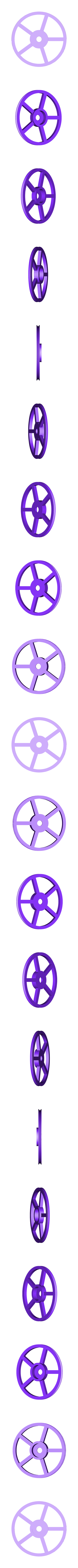 Anycubic_I3_Mega_Filamentrollenhalter-Umlenkrad.stl Download free STL file Anycubic I3 Mega Spool Holder • 3D print object, dede67