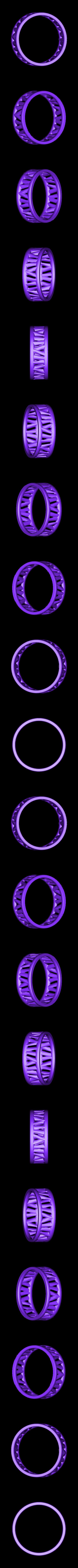 PI-Bracelet-ring_3.2M.stl Télécharger fichier STL gratuit Bracelet Palmiga - Collection Bague • Plan imprimable en 3D, Palmiga