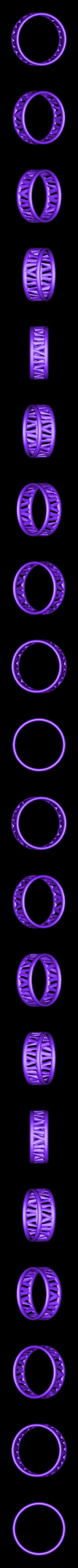PI-Bracelet-ring_3.2MD.stl Télécharger fichier STL gratuit Bracelet Palmiga - Collection Bague • Plan imprimable en 3D, Palmiga