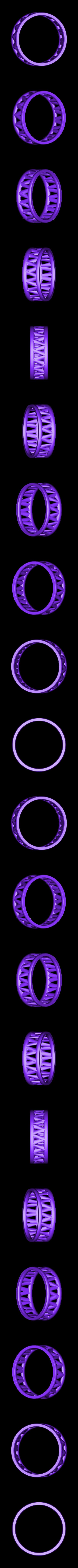 PI-Bracelet-ring_3.2.stl Télécharger fichier STL gratuit Bracelet Palmiga - Collection Bague • Plan imprimable en 3D, Palmiga