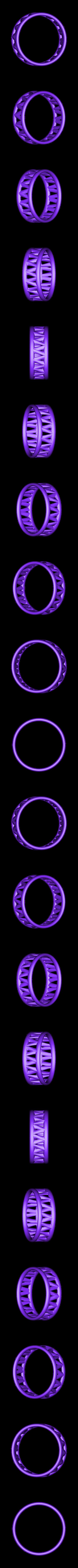 PI-Bracelet-ring_3.2D.stl Télécharger fichier STL gratuit Bracelet Palmiga - Collection Bague • Plan imprimable en 3D, Palmiga
