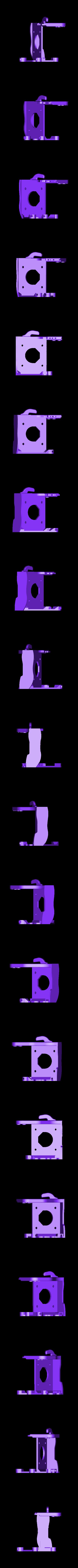 plus_ultra_hotend_mount.stl Télécharger fichier STL gratuit CR-10 E3D montage à entraînement direct • Plan imprimable en 3D, Lance_Greene