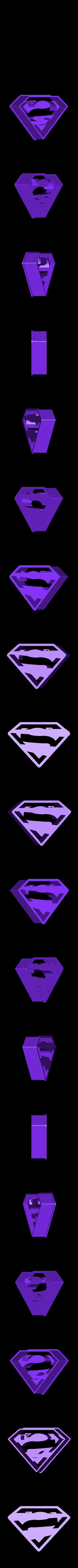superman.stl Télécharger fichier STL Emporte-pièces DC super héros • Design imprimable en 3D, 3D-mon