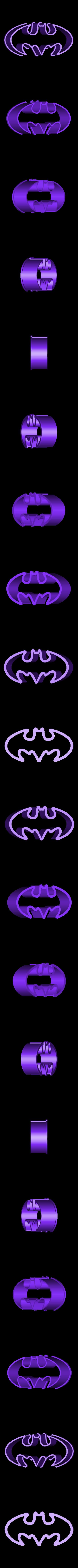 batman.stl Télécharger fichier STL Emporte-pièces DC super héros • Design imprimable en 3D, 3D-mon