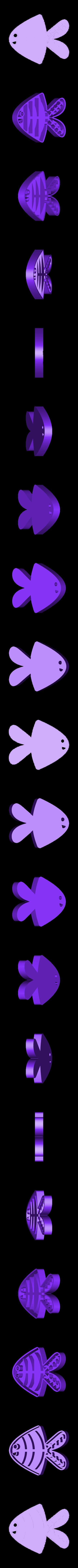 fish_half.stl Download free STL file Tide the Fish • Design to 3D print, Tarnliare