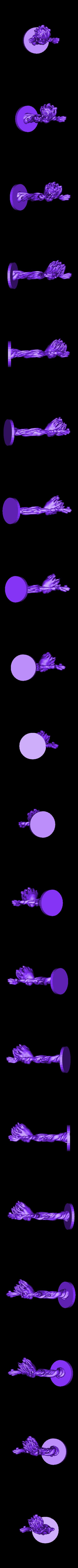 groot_figure_no_supports.stl Télécharger fichier STL gratuit Groot dansant • Design pour impression 3D, Tarnliare