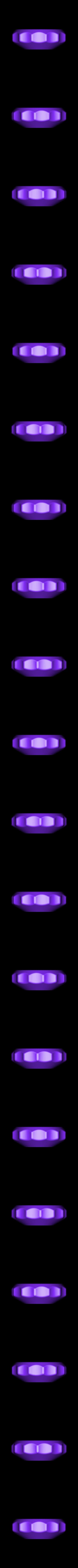 Replacement_Knob_001a.STL Télécharger fichier STL gratuit Cinq réparations de portes de placard ! • Modèle pour imprimante 3D, Tarnliare