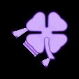 Clover_008e.STL Download free STL file Lottery Scratcher Tool • 3D print model, Tarnliare