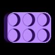Pill_Bottle_Rack_001.STL Télécharger fichier STL gratuit Range-bouteilles pour pilules • Design imprimable en 3D, Tarnliare