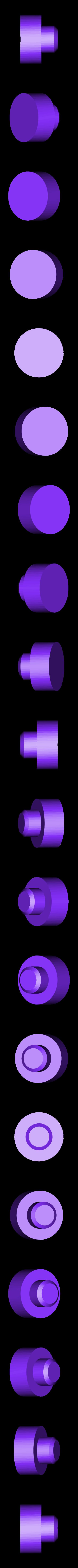 Material_Tube_Adapter_001.STL Download free STL file Universal Spool Mount • 3D printable template, Tarnliare