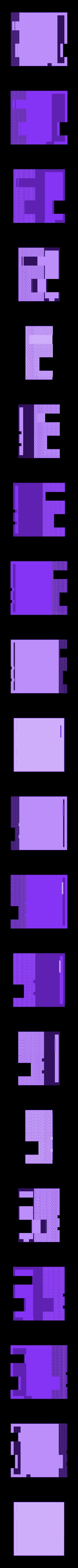Post-Walls.stl Download free STL file Railway crossing post building H0 • Design to 3D print, polkin