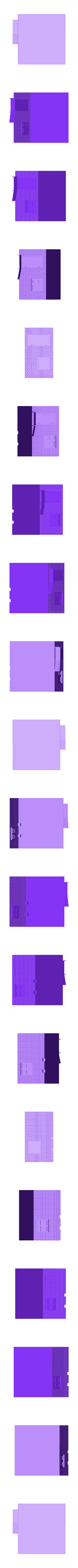 Post-Walls-Simple.stl Download free STL file Railway crossing post building H0 • Design to 3D print, polkin