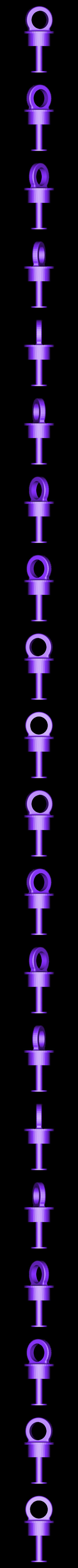 crochet.stl Télécharger fichier STL gratuit Boule de Noël • Design à imprimer en 3D, Luci