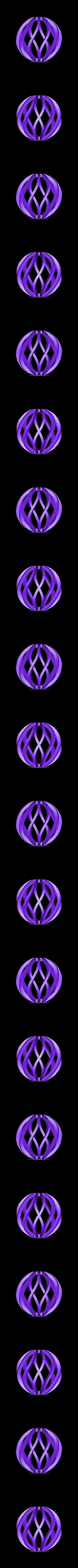 boule_de_noel_trois.stl Télécharger fichier STL gratuit Boule de Noël • Design à imprimer en 3D, Luci