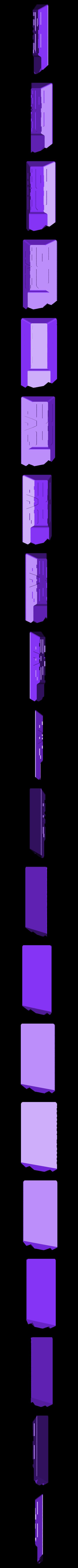 3DTAC_2.stl Download STL file 3DTAC / VERTX 80° Tactical Grip • 3D printing template, 3DMX