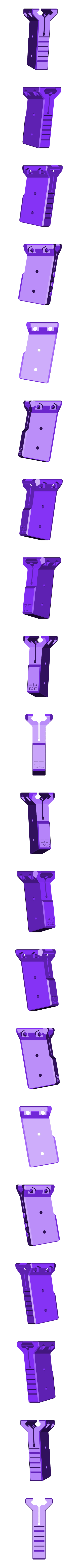 3dtac_vert_x_80_supported.stl Download STL file 3DTAC / VERTX 80° Tactical Grip • 3D printing template, 3DMX