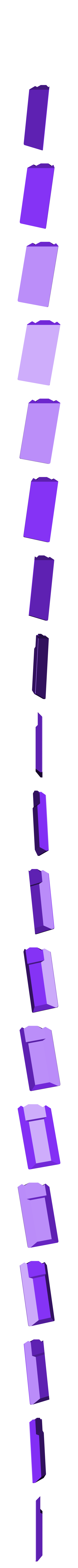 Plaet_Blank.stl Download STL file 3DTAC / VERTX 80° Tactical Grip • 3D printing template, 3DMX