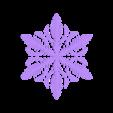 reiter.stl Télécharger fichier STL gratuit Simulation de la croissance des flocons de neige dans OpenSCAD • Plan pour imprimante 3D, arpruss