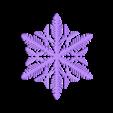 reiter-star.stl Télécharger fichier STL gratuit Simulation de la croissance des flocons de neige dans OpenSCAD • Plan pour imprimante 3D, arpruss
