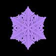 reiter-150steps.stl Télécharger fichier STL gratuit Simulation de la croissance des flocons de neige dans OpenSCAD • Plan pour imprimante 3D, arpruss