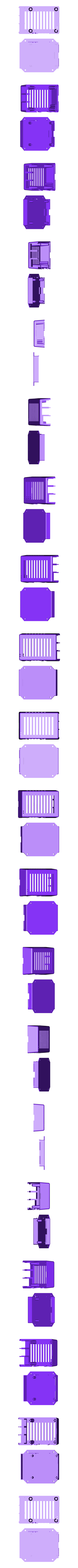 raspberry_pi_3.stl Download free STL file Ventilated Raspberry Pi 3/3B+ case • 3D printing object, arpruss