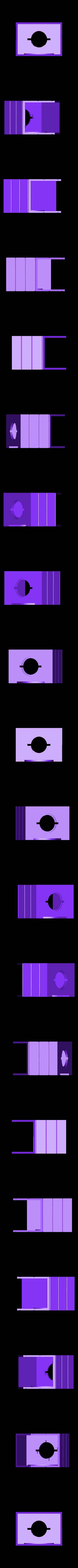 Snoopy_house_base_v1.stl Download free STL file Snoopy vs Red Baron Bank (Compilation/remix) • 3D print template, lowboydrvr