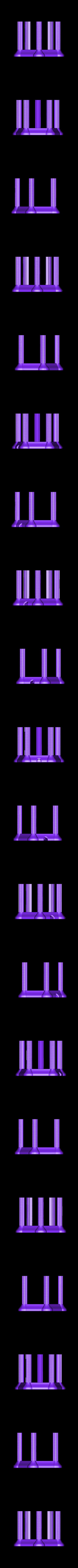 Mod-LItho-Base.stl Télécharger fichier STL gratuit Lanterne Lithophane Modulaire • Design à imprimer en 3D, ChrisBobo