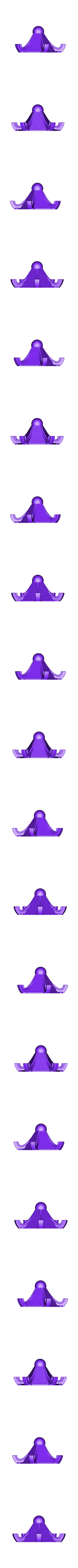 Mod-Litho-Top.stl Télécharger fichier STL gratuit Lanterne Lithophane Modulaire • Design à imprimer en 3D, ChrisBobo