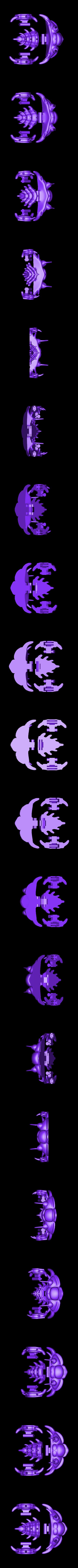 Trilobite_v1_p1.STL Télécharger fichier STL gratuit Comura Articulatum • Modèle imprimable en 3D, Ogubal3D