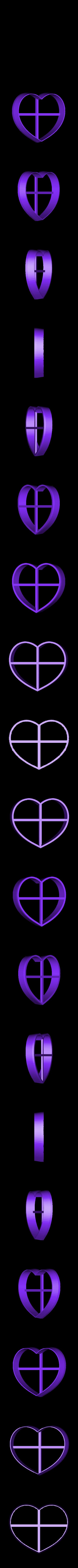 Heart.stl Download free STL file Set of simple Christmas cutters • 3D printer template, Ogubal3D