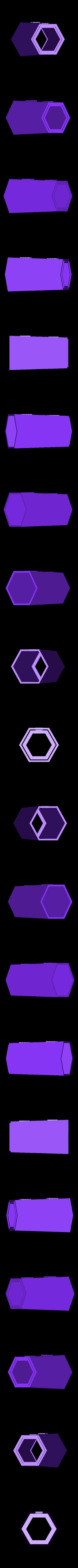 LH_hexa_body2.stl Download free STL file Hexagonal Base Lighthouse Model • 3D printable model, Ogubal3D