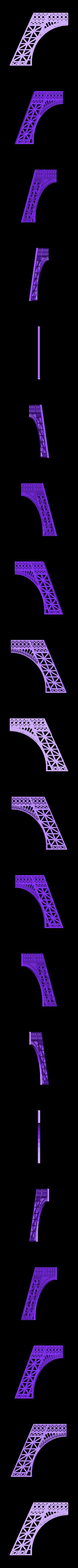 Eiffel_twr_A.stl Download free STL file Eiffel Tower HD • 3D print model, Ogubal3D