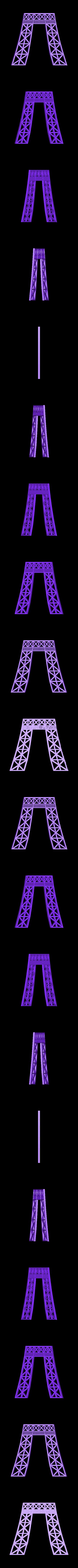 Eiffel_twr_D.stl Download free STL file Eiffel Tower HD • 3D print model, Ogubal3D