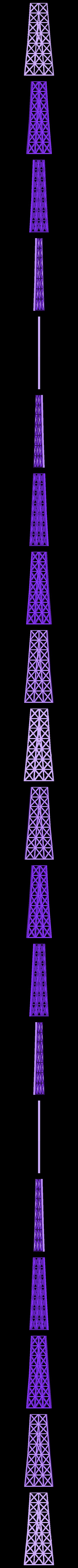 Eiffel_twr_J.stl Download free STL file Eiffel Tower HD • 3D print model, Ogubal3D
